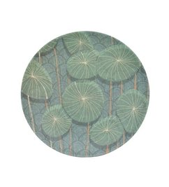 Urban Nature Culture-collectie plate bamboo Nymphaea
