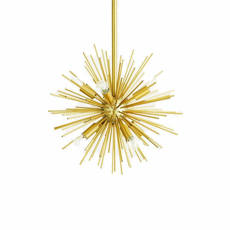 Madam Stoltz-collectie Madam Stoltz Ceilling lamp gold