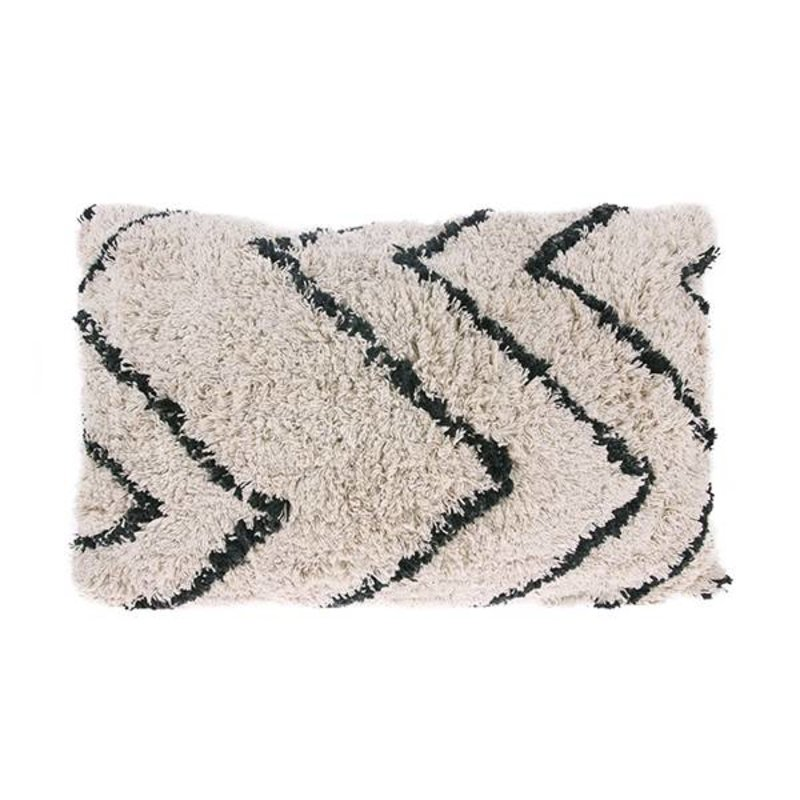 HKliving-collectie  cotton zigzag cushion
