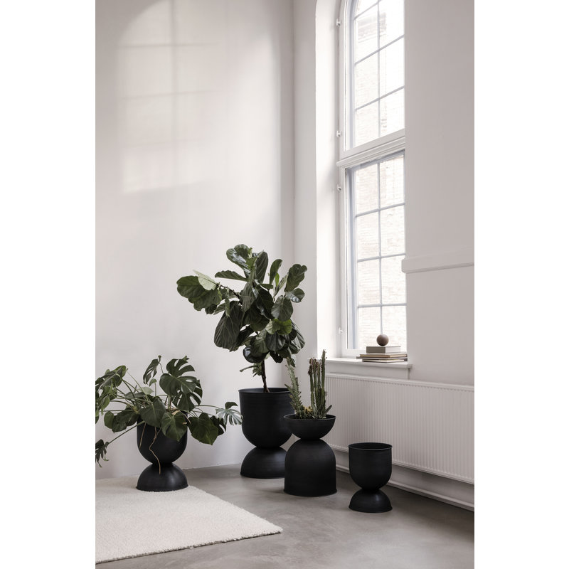 ferm LIVING-collectie Planten pot Hourglass 73cm