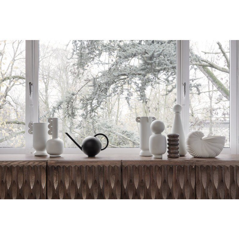 ferm LIVING-collectie Orb Watering Can - Black