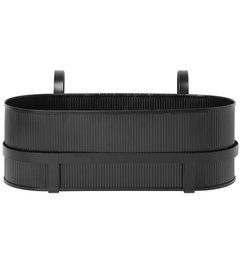 ferm LIVING-collectie Bau Balcony Box - Black