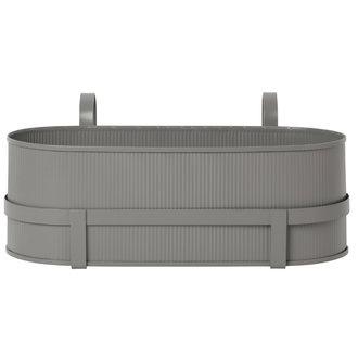 ferm LIVING Bau Balcony Box - Warm Grey