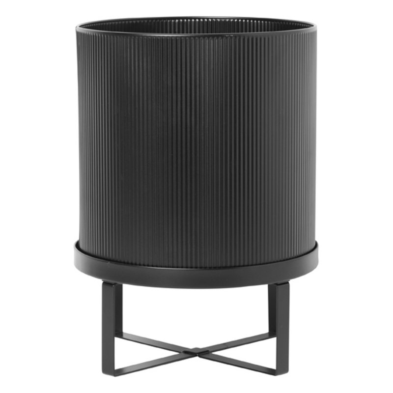 ferm LIVING-collectie Bau Pot - Large - Black