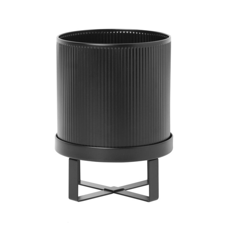 ferm LIVING-collectie Bau Pot - Small - Black