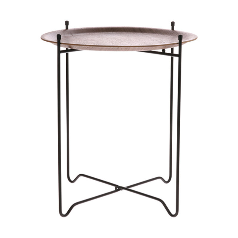 HK living-collectie side table M walnut
