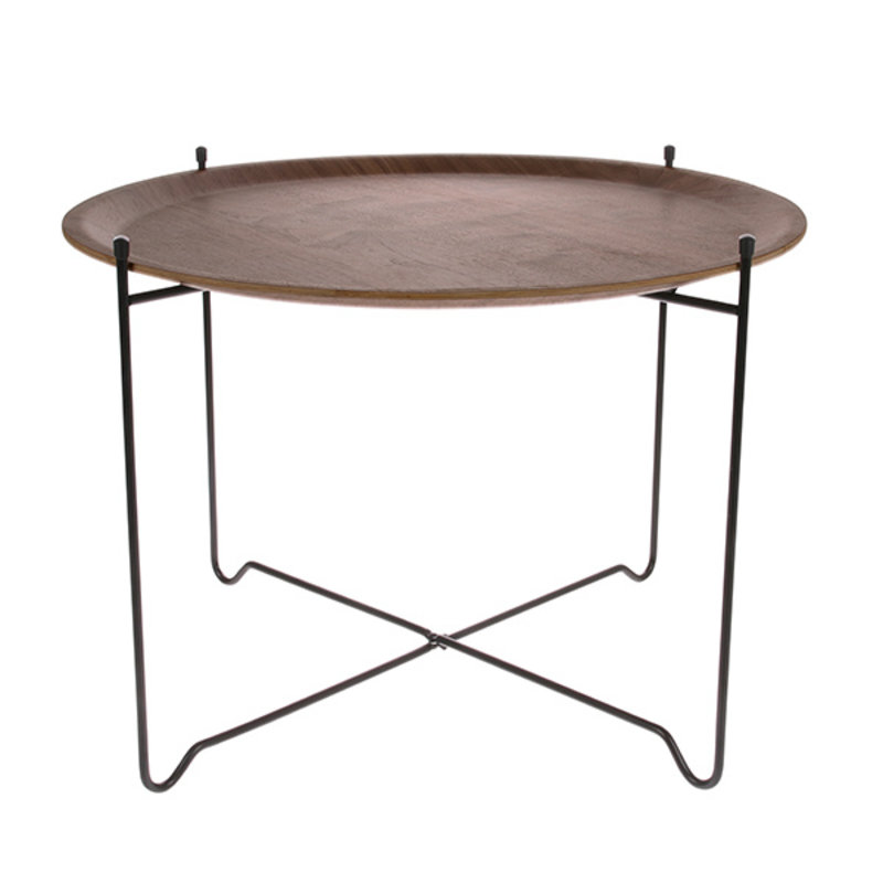 HK living-collectie side table L walnut