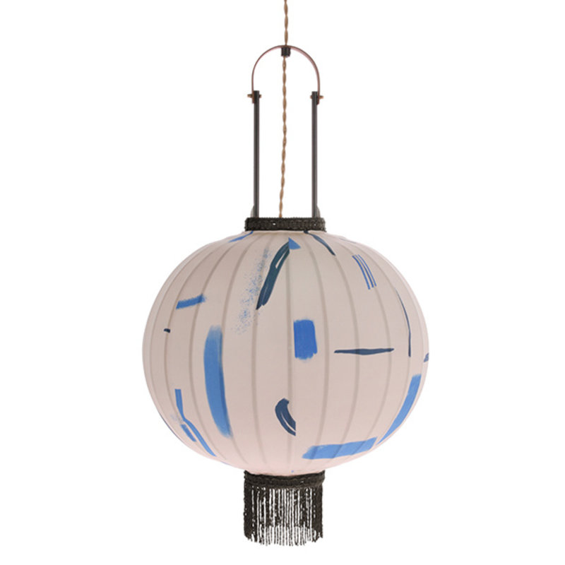HKliving-collectie Hanglamp traditionel lantaarn marker 51cm