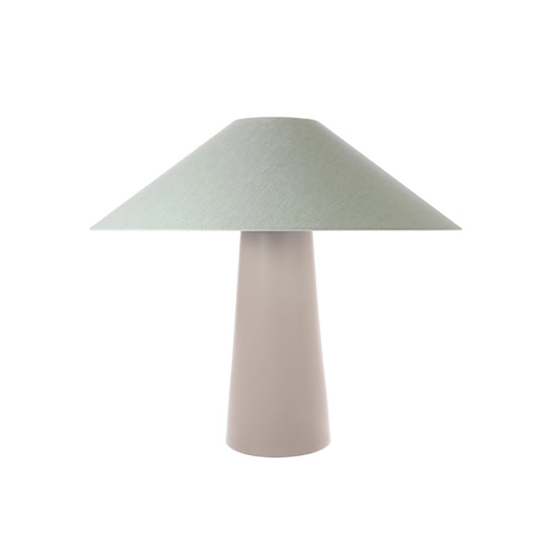 HK living-collectie triangle lampshade mint green jute