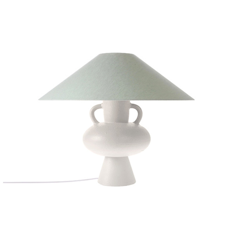 HKliving-collectie triangle lampshade mint green jute