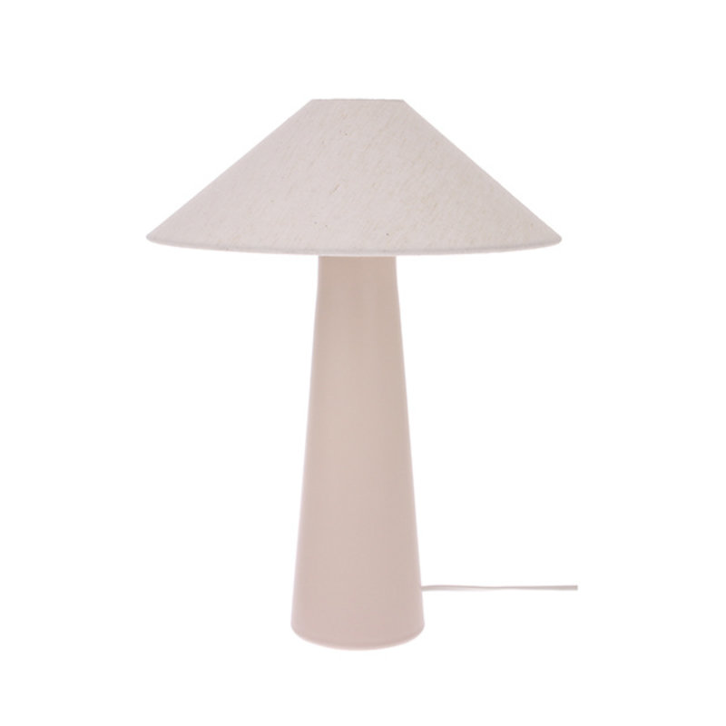 HKliving-collectie Lampenvoet Cone mat nude