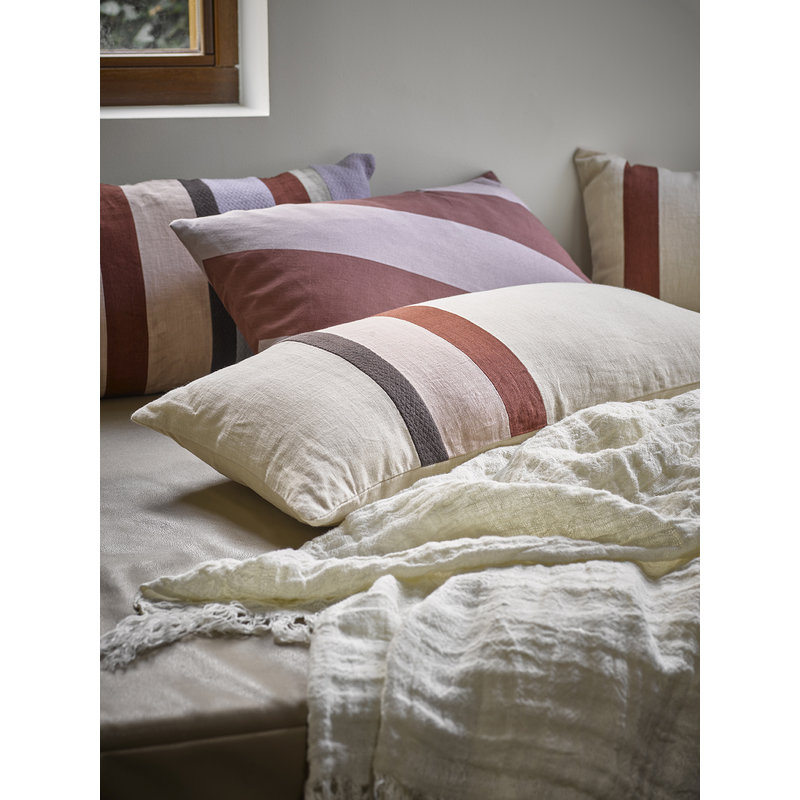 HKliving-collectie linen bedspread natural (270x270)