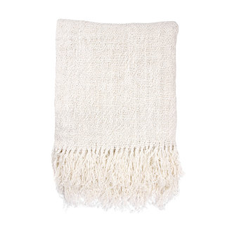 HKliving linen throw bleached (130x170)