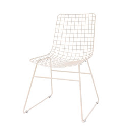 HK living-collectie metal wire chair skin