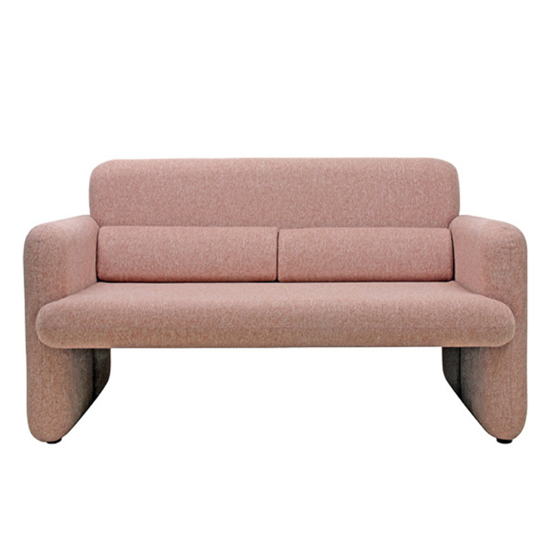 HK living-collectie studio sofa coral red