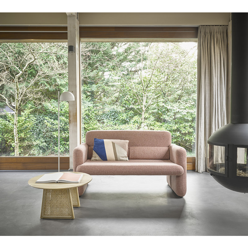 HK living-collectie Studio sofa Koraalrood