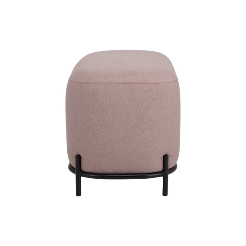 HKliving-collectie Poef oudroze 80cm