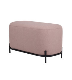 HK living-collectie pouf 80cm old pink