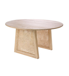 HK living-collectie Webbing salontafel naturel 65cm