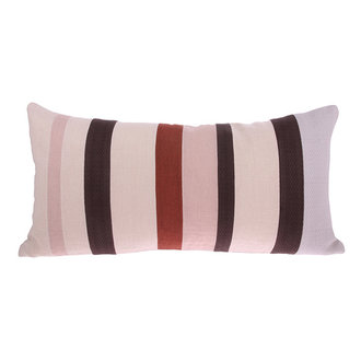 HKliving linen striped cushion D (70x35)