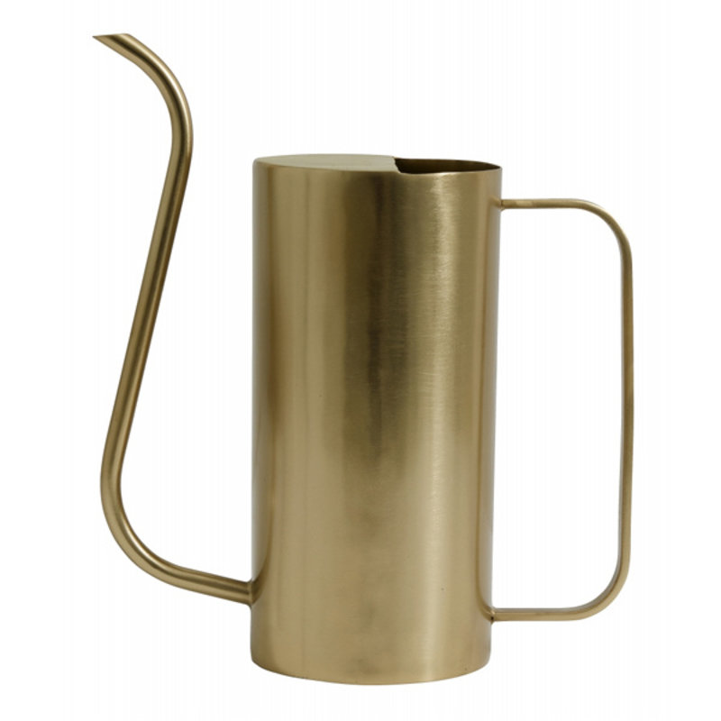 Nordal-collectie Water pitcher, large, brass finish
