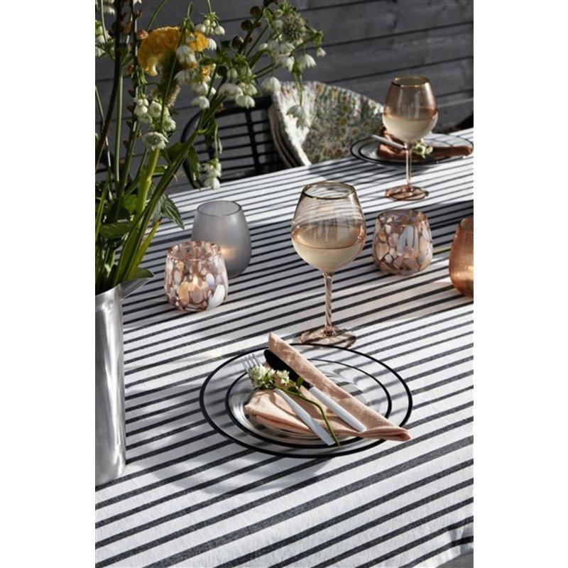 Nordal-collectie Goldie wineglas w. gold rim