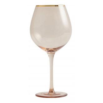 Nordal Goldie wineglas w. gold rim