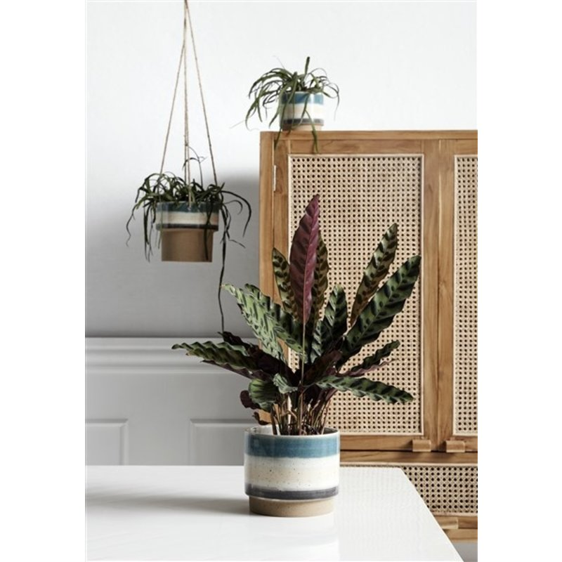 Nordal-collectie POT, hanging, blue/multi color