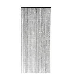 Nordal-collectie Bamboo curtain w. 90 strings, black
