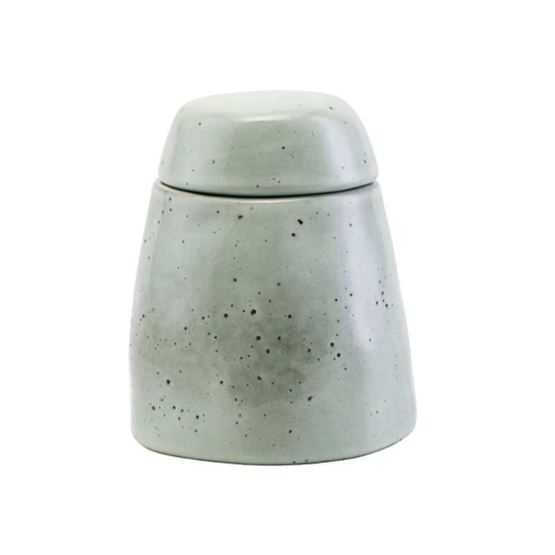 House Doctor-collectie Sugar bowl w. lid, Rustic, Grey/Blue