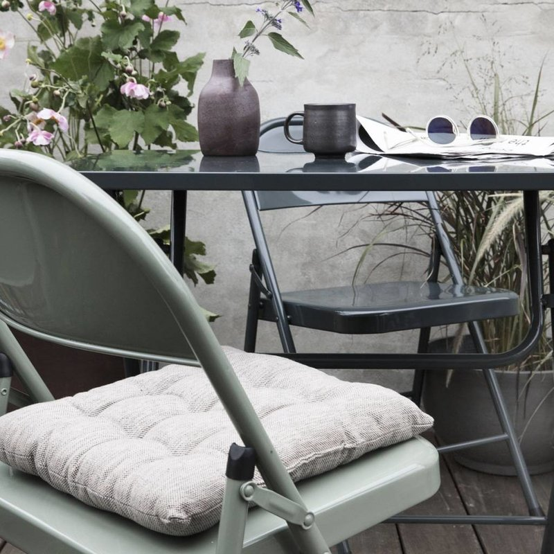 House Doctor-collectie Foldable table FOLD IT grey - Copy