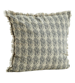 Madam Stoltz-collectie Cushion cover w/ fringes - Copy - Copy