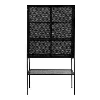 Nordal WIRE cabinet, black
