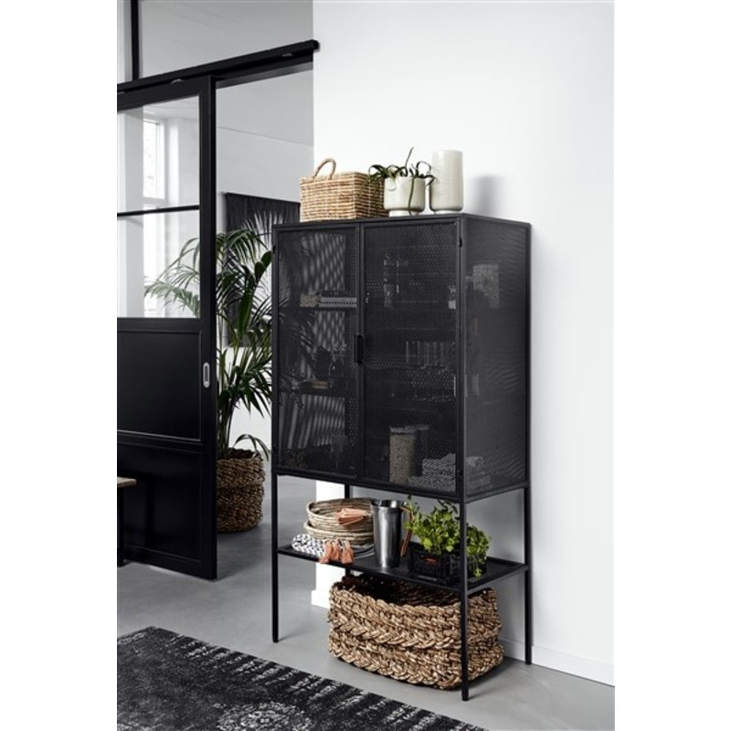 Nordal-collectie WIRE cabinet, black