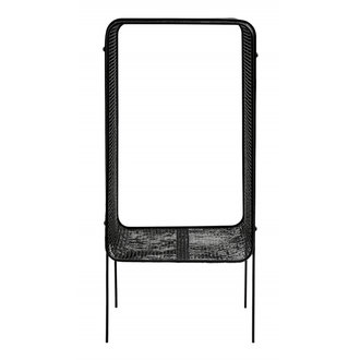 Nordal Iron side table, high, black
