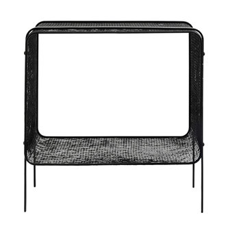 Nordal Iron side table, low, black