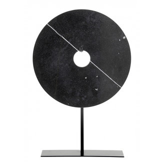 Nordal Marble stand deco, black