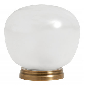 Nordal Table lamp, glass, color white
