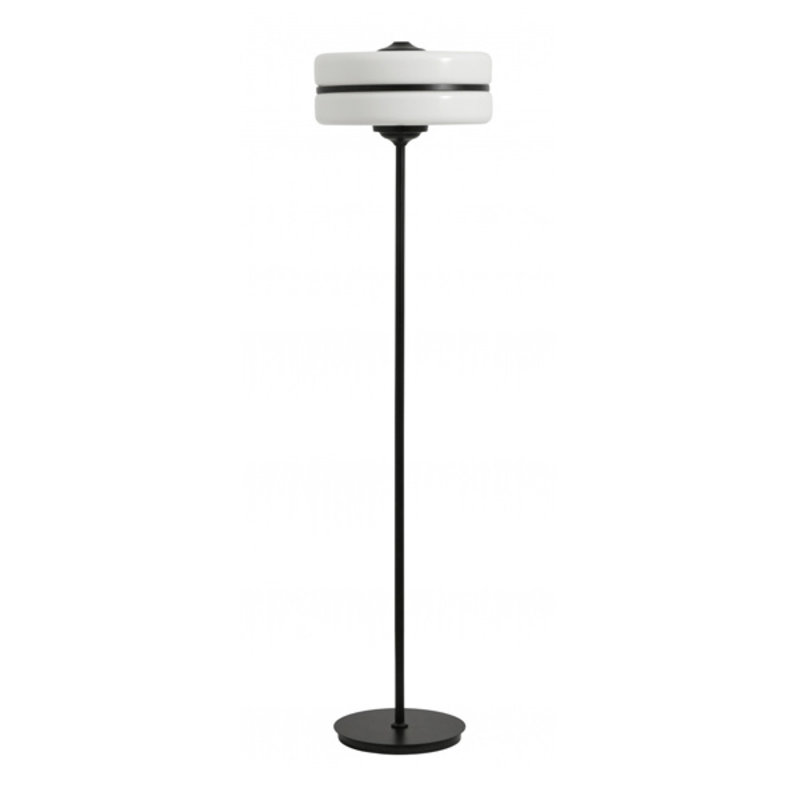 Nordal-collectie Stander lamp, glass w. black iron