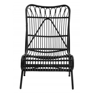 Nordal Garden lounge chair, color black