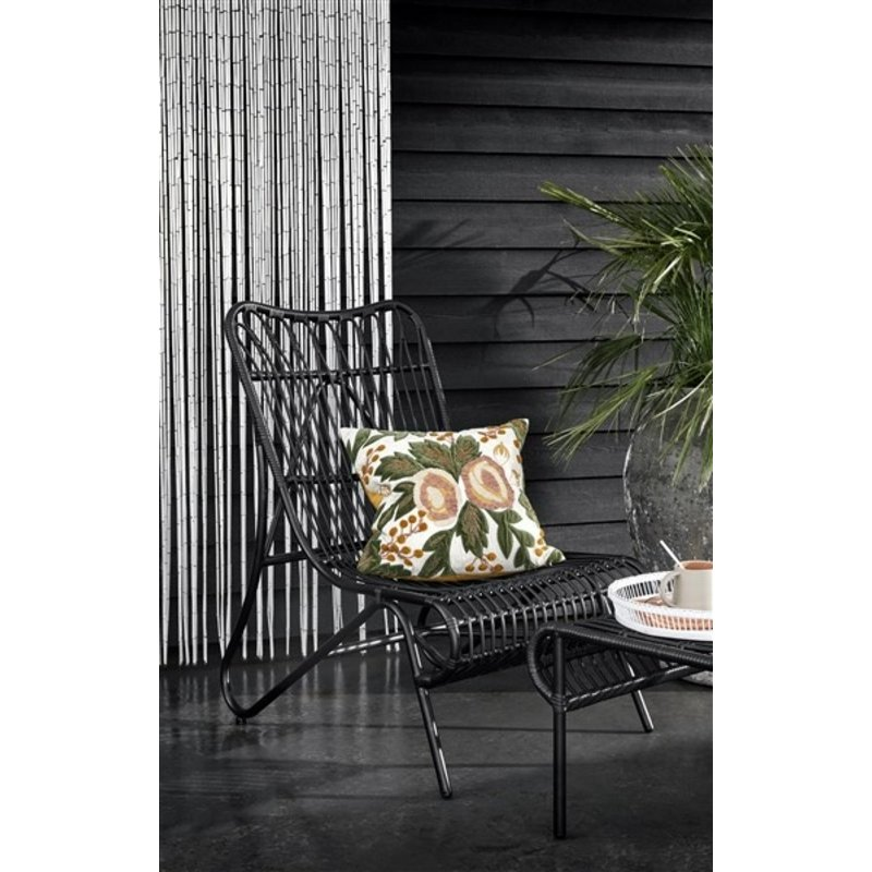 Nordal-collectie Garden lounge chair, color black