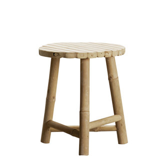 Tine K Home Bamboo stool 35cm