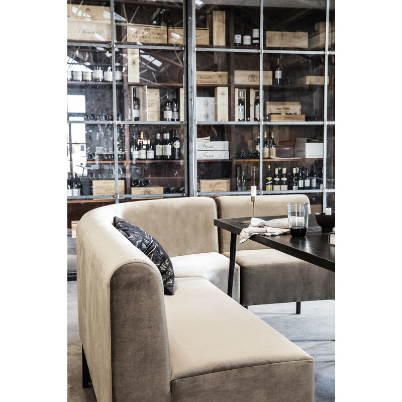 House Doctor-collectie Sofa Sand rond hoekelement