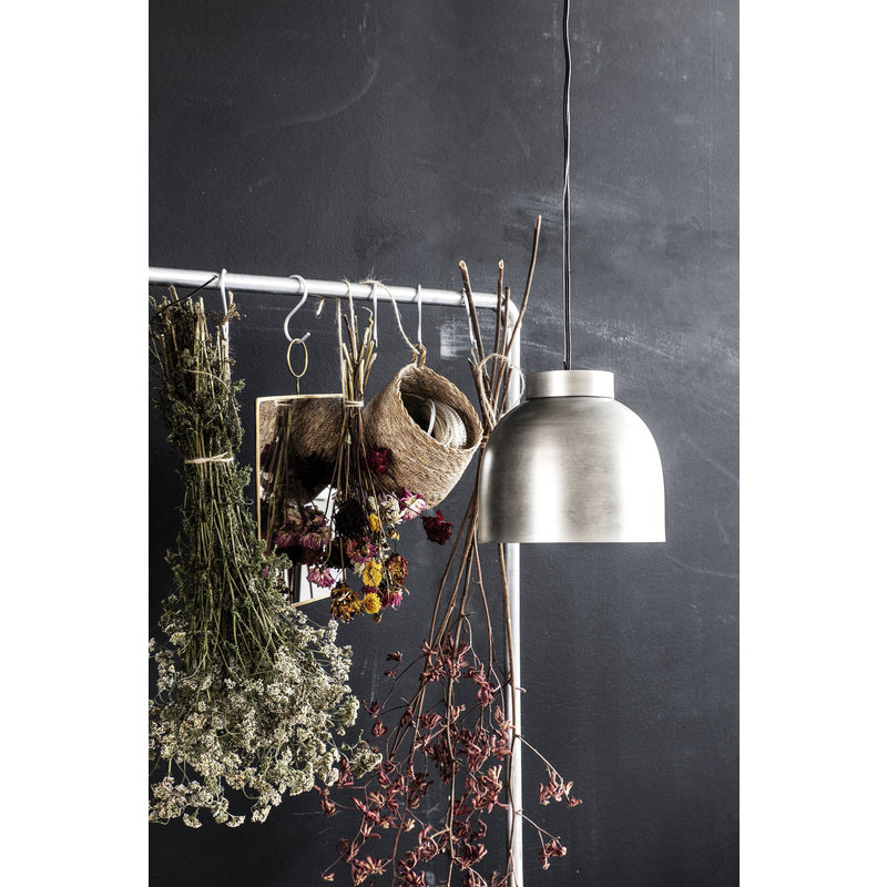 House Doctor-collectie Hanglamp Bowl Gunmetal 21 x 23