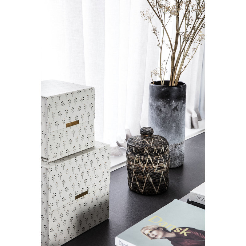 House Doctor-collectie Storage w. lid, Boylo Dark