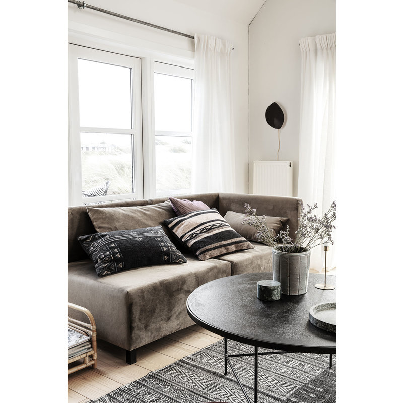 House Doctor-collectie Sofa, Dark grey, Corner