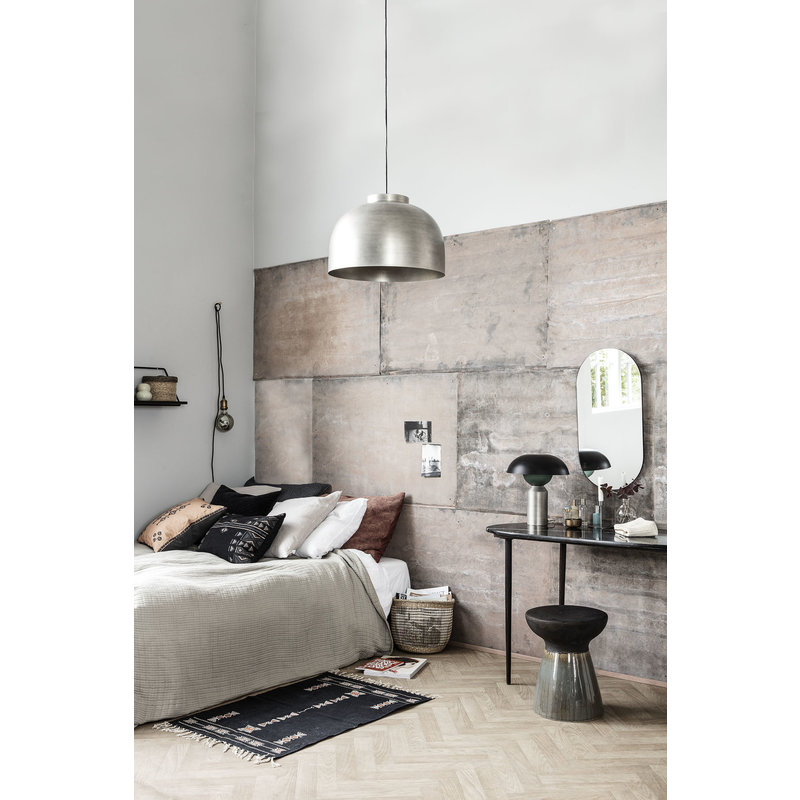 House Doctor-collectie Hanglamp Bowl Gunmetal