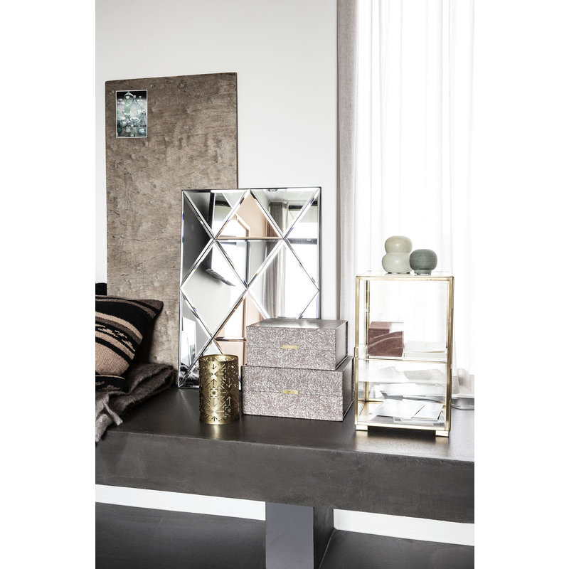 House Doctor-collectie Cabinet, Brass,