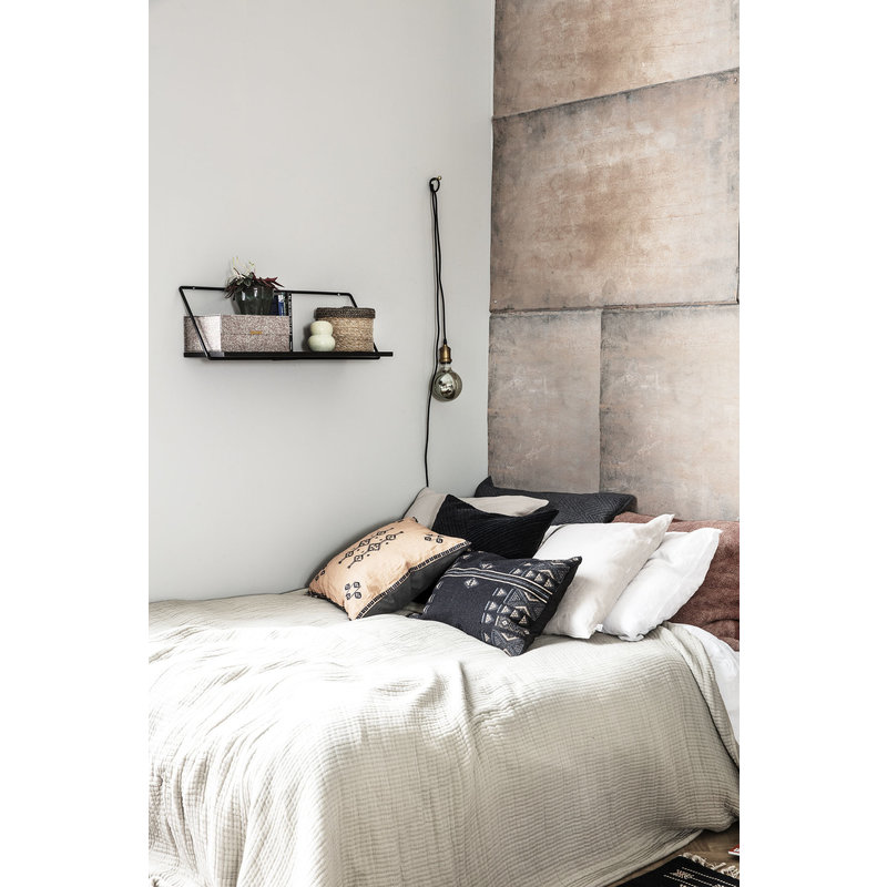 House Doctor-collectie Plank Wired zwart 70cm