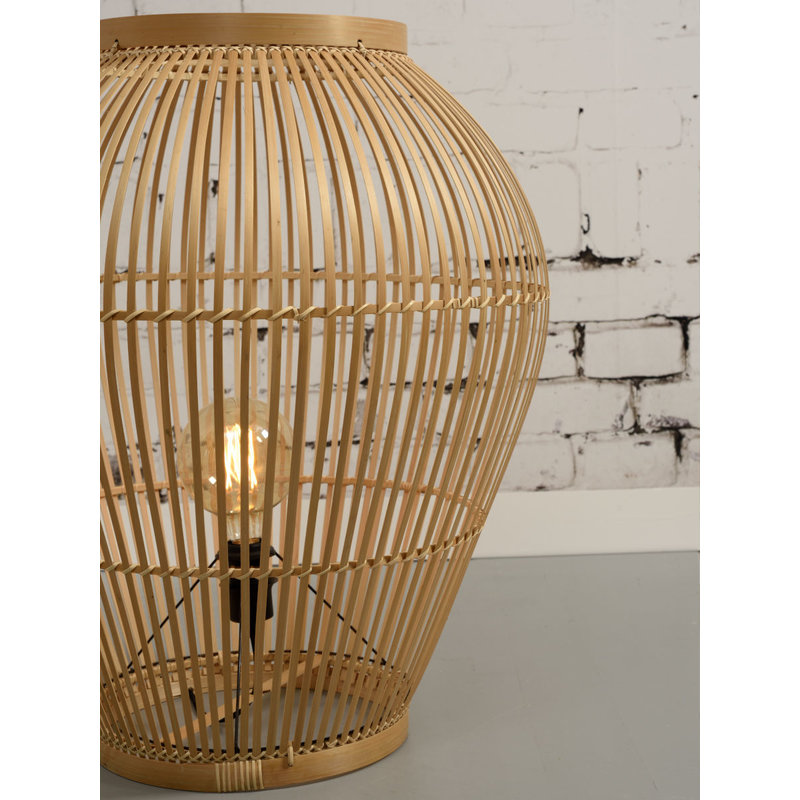 Good&Mojo-collectie Floor lamp Tuvalu bamboo natural, L